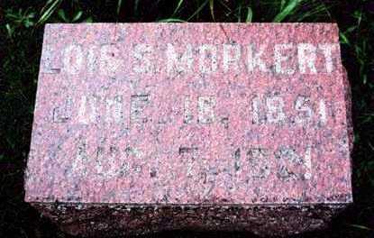 BURNETT MORKERT, LOIS S. - Marion County, Iowa | LOIS S. BURNETT MORKERT