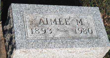 MORROW, AIMEE M. - Marion County, Iowa   AIMEE M. MORROW