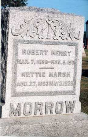 MORROW, ROBERT HENRY - Marion County, Iowa | ROBERT HENRY MORROW
