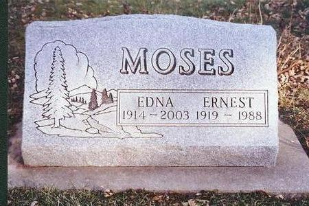 MOSES, ERNEST - Marion County, Iowa | ERNEST MOSES