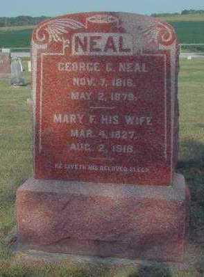 STUMM NEAL, MARY FRANCES - Marion County, Iowa | MARY FRANCES STUMM NEAL