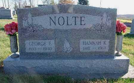 NOLTE, HANNAH K. - Marion County, Iowa | HANNAH K. NOLTE