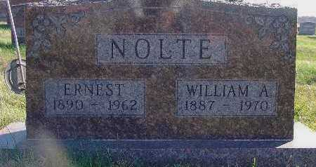 NOLTE, WILLIAM A. - Marion County, Iowa | WILLIAM A. NOLTE