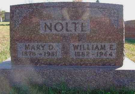 NOLTE, MARY D. - Marion County, Iowa | MARY D. NOLTE