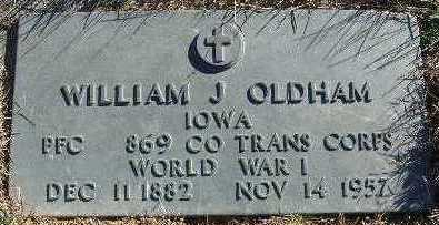 OLDHAM, WILLIAM J. - Marion County, Iowa | WILLIAM J. OLDHAM