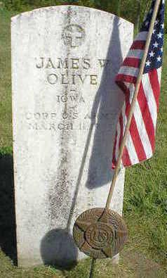 OLIVE, JAMES W. - Marion County, Iowa   JAMES W. OLIVE