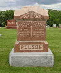 POLSON, SARAH JANE - Marion County, Iowa | SARAH JANE POLSON