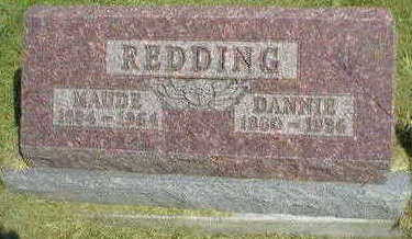 REDDING, MAUDE - Marion County, Iowa | MAUDE REDDING
