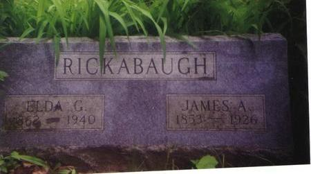 RICKABAUGH, ELDA G. - Marion County, Iowa | ELDA G. RICKABAUGH