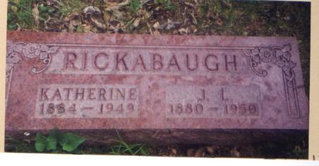 RICKABAUGH, JAMES - Marion County, Iowa | JAMES RICKABAUGH