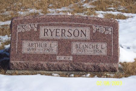RYERSON, BLANCH LORENE - Marion County, Iowa | BLANCH LORENE RYERSON
