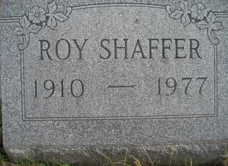 SHAFFER, ROY - Marion County, Iowa | ROY SHAFFER