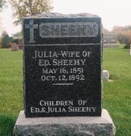 SHEEHY SHEEHY, JULIA - Marion County, Iowa | JULIA SHEEHY SHEEHY