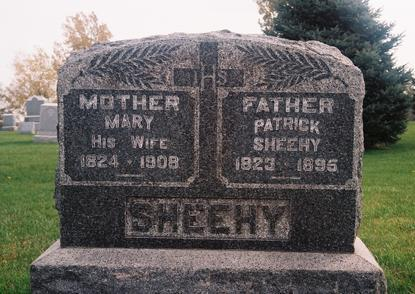 SHEEHY, MARY - Marion County, Iowa | MARY SHEEHY