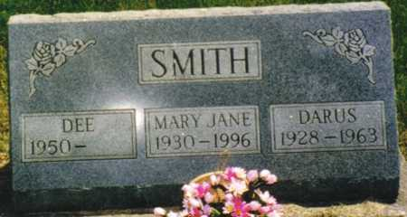 SMITH, MARY JANE - Marion County, Iowa | MARY JANE SMITH