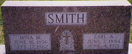 SMITH, EARL A. - Marion County, Iowa | EARL A. SMITH
