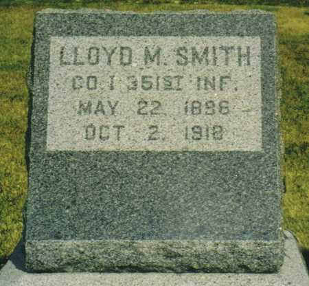 SMITH, LLOYD M. - Marion County, Iowa | LLOYD M. SMITH