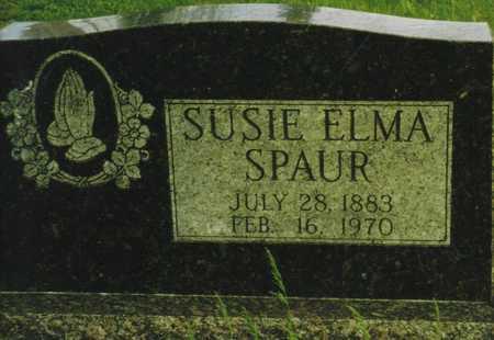 SPAUR, SUSIE ELMA - Marion County, Iowa | SUSIE ELMA SPAUR