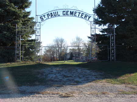ST. PAUL, CEMETERY - Marion County, Iowa | CEMETERY ST. PAUL