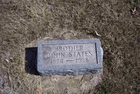 STATES, JOHN - Marion County, Iowa | JOHN STATES