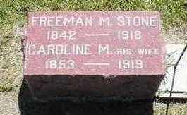 STONE, FREEMAN MILES - Marion County, Iowa | FREEMAN MILES STONE