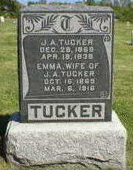 TUCKER, J.A. - Marion County, Iowa | J.A. TUCKER