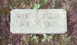 JACKSON VAUGHN, MYRTLE A. - Marion County, Iowa | MYRTLE A. JACKSON VAUGHN