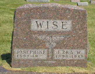 WISE, JOSEPHINE - Marion County, Iowa | JOSEPHINE WISE