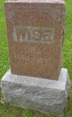 WISE, ORA - Marion County, Iowa | ORA WISE