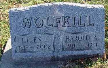 WOLFKILL, HELEN I. - Marion County, Iowa | HELEN I. WOLFKILL