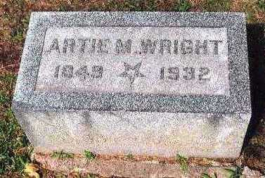 MARSH WRIGHT, ARTIE M. - Marion County, Iowa | ARTIE M. MARSH WRIGHT
