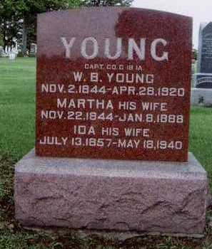 YOUNG, WILLIAM B. - Marion County, Iowa | WILLIAM B. YOUNG