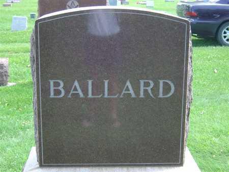 BALLARD, FAMILY - Marshall County, Iowa | FAMILY BALLARD