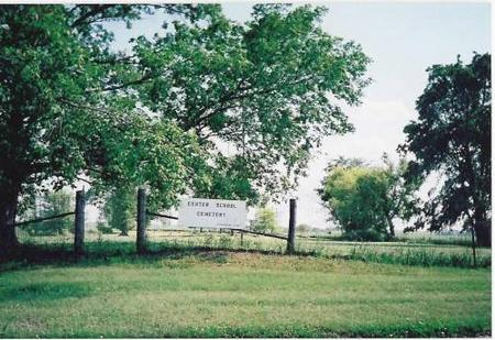 CENTER SCHOOL, CEMETERY - Marshall County, Iowa | CEMETERY CENTER SCHOOL