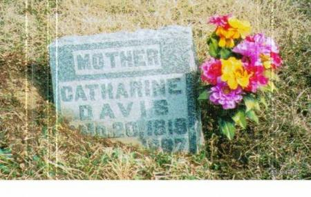 DAVIS, CATHARINE - Marshall County, Iowa | CATHARINE DAVIS