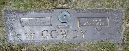 BAKER GOWDY, CORA - Marshall County, Iowa | CORA BAKER GOWDY