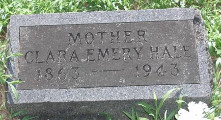 HALE, CLARA LENORA (MEAD) EMERY - Marshall County, Iowa | CLARA LENORA (MEAD) EMERY HALE