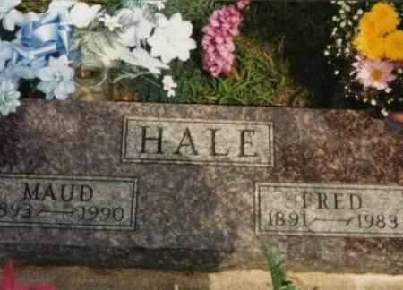 HALE, FRED & MAUD - Marshall County, Iowa | FRED & MAUD HALE