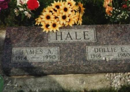 HALE, JAMES & DOLLIE (HALL) - Marshall County, Iowa | JAMES & DOLLIE (HALL) HALE