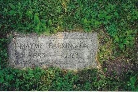 HARRINGTON, MAYME - Marshall County, Iowa | MAYME HARRINGTON