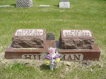 HILLEMAN, MARY - Marshall County, Iowa | MARY HILLEMAN