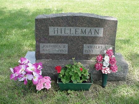 HAMMAN HILLEMAN, JOHANNA K - Marshall County, Iowa | JOHANNA K HAMMAN HILLEMAN