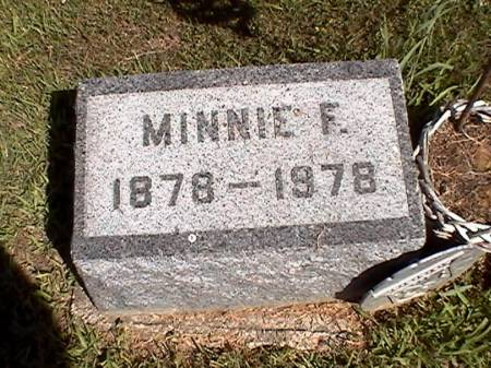 LEIBSLE, MINNIE F. (RICHMOND) - Marshall County, Iowa | MINNIE F. (RICHMOND) LEIBSLE