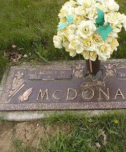 MCDONALD, GEORGE - Marshall County, Iowa | GEORGE MCDONALD