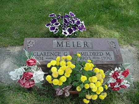 MEIER, MILDRED M - Marshall County, Iowa | MILDRED M MEIER