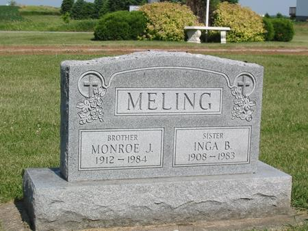 MELING, MONROE J. - Marshall County, Iowa | MONROE J. MELING