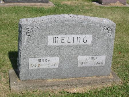 MELING, MARY - Marshall County, Iowa | MARY MELING