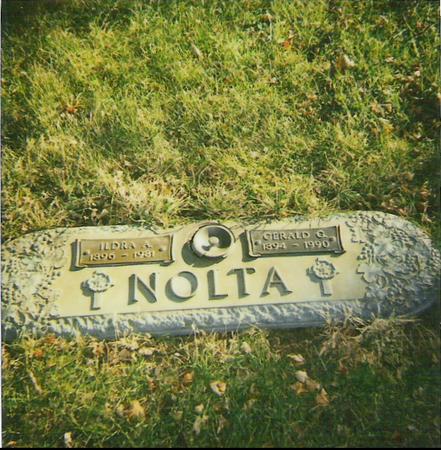 NOLTA, GERALD G. - Marshall County, Iowa | GERALD G. NOLTA