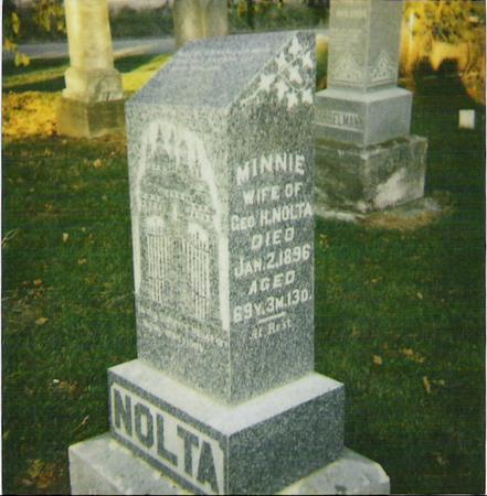 LEIFHEIT NOLTA, WILHELMIA - Marshall County, Iowa | WILHELMIA LEIFHEIT NOLTA