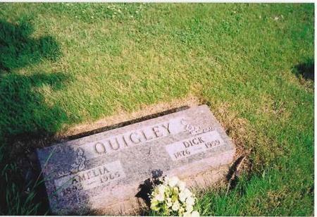QUIGLEY, AMELIA & DICK - Marshall County, Iowa | AMELIA & DICK QUIGLEY